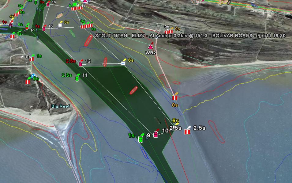 EarthNC   Live AIS Ship Tracking for Galveston, Texas on
