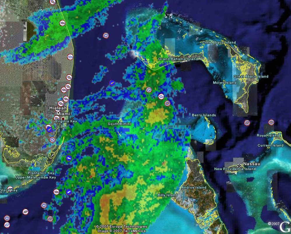 Real-time National Nexrad WEATHER RADAR | EarthNC